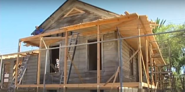 Video-Sikes Adobe Farmhouse Renovation