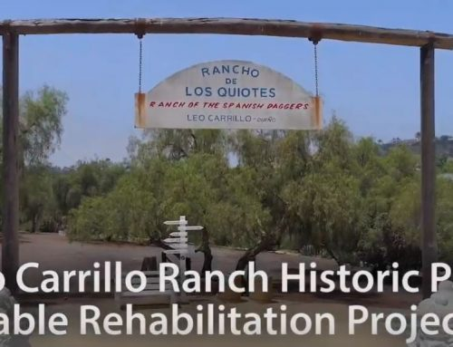 Video: Leo Carrillo Ranch Historic Park Stable Rehabilitation Project