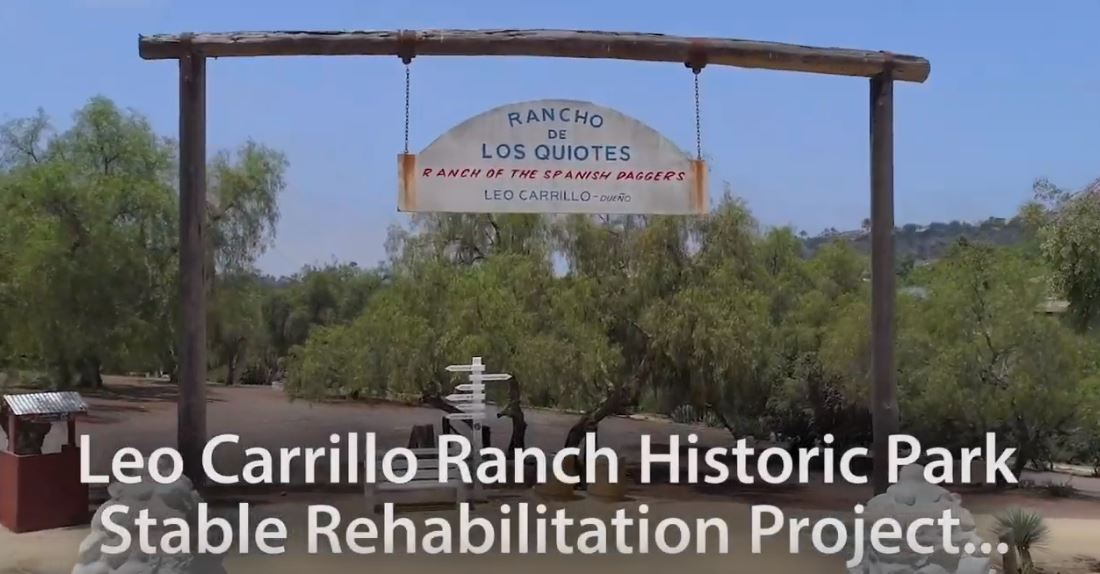 Video-Leo-Carrillo-Ranch-Historic-Park-Rehabilitation-Project